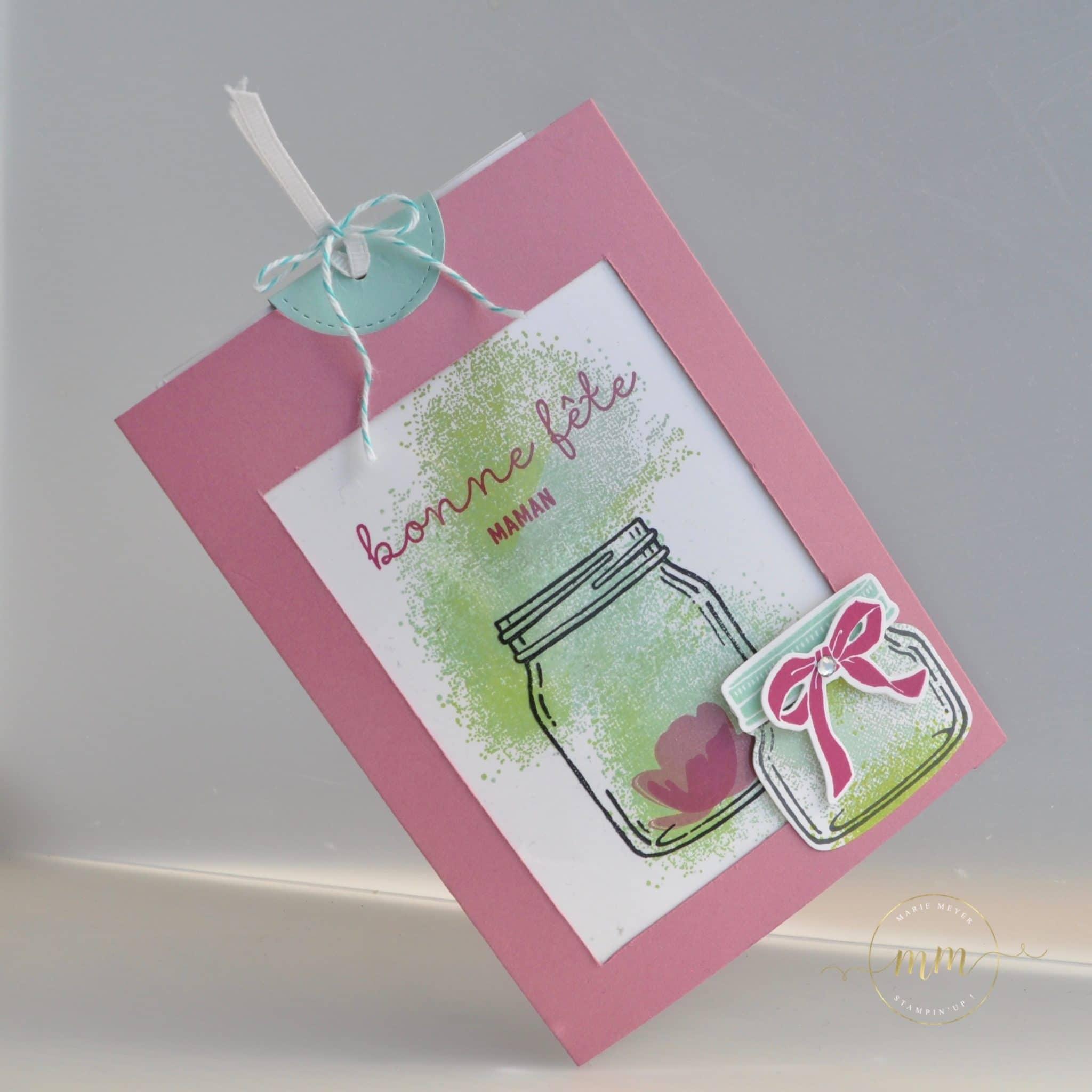 Carte magique petit pot d 39 amour sp cial f te des m res et son tutoriel - Carte d amour ...